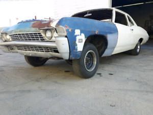1968 Chevy Biscayne PROJECT