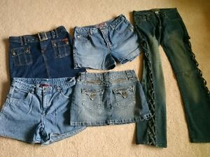 Jean Skirts, Jean Shorts and Unique Jeans