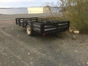 for sale 7x12 utility trailer