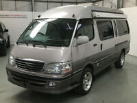TOYOTA HIACE 3.0 TD LWB SUPER CUSTOM, HIGH ROOF, MOTORHOME, 4 BERTH, CAMPER VAN