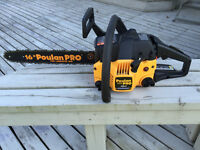 Chainsaw Poulan Pro 967196401 PP3816A 38cc with Case