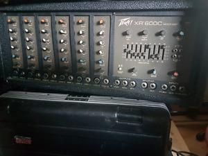 Peavey Xr600c 6 channel mixer