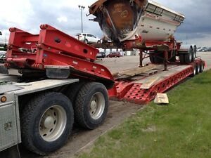 Low Bed Heavy Haul Services RGN Double Drop jeep and Booster Edmonton Edmonton Area image 6
