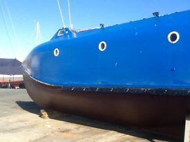 Converted Cruising Lifeboat - Sea Dragon
