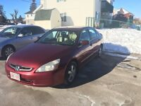 Honda accord New Inspection