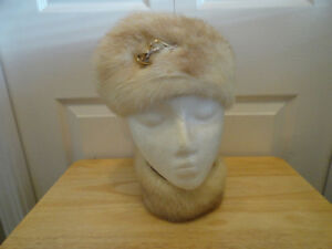 Women's Real Fur Hat & Woolen Hats - Very Good Condition