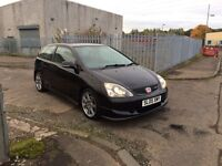 Honda Civic EP3 Type R 2005 FHSH One Former Lady Owner MOT May 2017