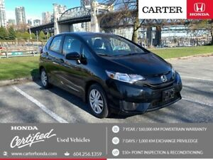 2015 Honda Fit LX + SPRING CLEARANCE + CERTIFIED!