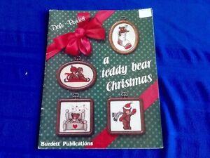 CROSS STITCH PATTERNS (21) - TEDDY BEAR CHRISTMAS
