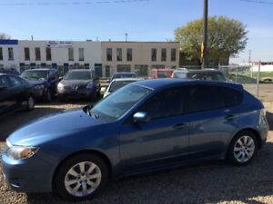 2010 SUBARU IMPREZZA, CLEAN CARPROOF, ONE YEAR WARRANTY