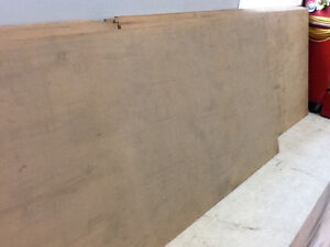 MDF SHEETS  3/4""