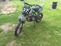 Dirt bike motocross mxr 125