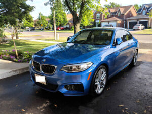 2016 BMW 228i, Manual, Low Km, Looks and Drives Like New