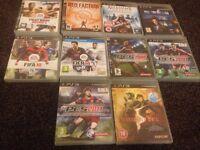 PS3 GAMES BUNDLE 10 GAMES!