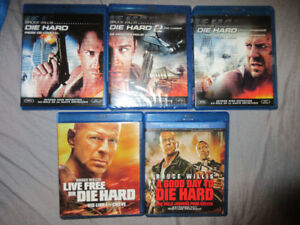 DIE HARD COMPLETE MOVIE SET BLURAY