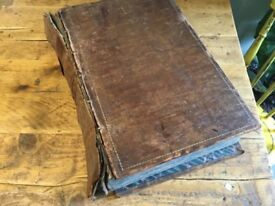 Large Welsh Bible