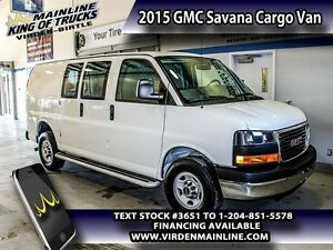 2015 GMC Savana Cargo Van   - $198.75 B/W - Low Mileage