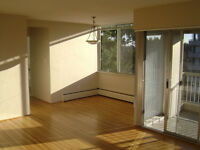 Large 1bdr apartment avail now or April 15th, near UBC