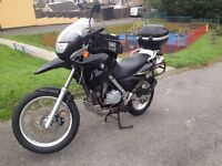 BMW f650gs adventure bike
