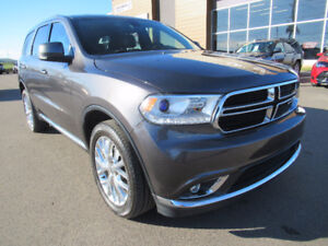 2016 Dodge Durango Limited | AWD, DVD, NAVIGATION, LEATHER