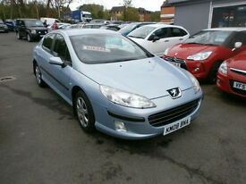 Peugeot 407 1.6HDi 110 2007MY 81000 MILES FSH DRIVES WELL