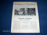VOLUNTEER FIREMEN JOURNAL-BOSTON, MASS.-5/1934-VINTAGE