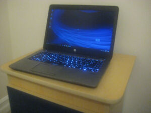 "14"" HP ultrabook, 2.10 GHz AMD A10, 8GB RAM, 500GB HDD"