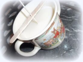 Tea cup candles Christmas gifts