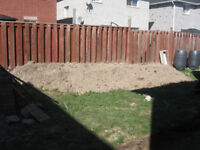 Removal of top soil service