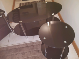 Coffee Table and round lamp stand