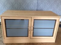 Beech Effect TV Cabinet For Sale