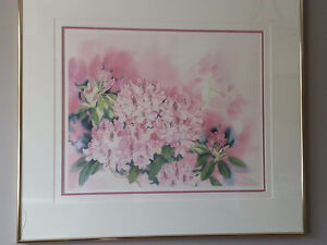 Rhododendron Print by Mary Dawn Roberts