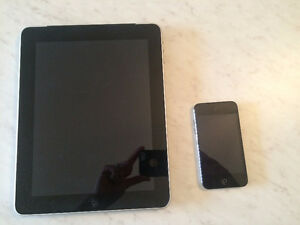 iPad 32G 1st Generation and iPod Touch 32G for sale