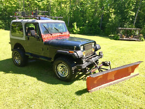 1994 Jeep yj with plow