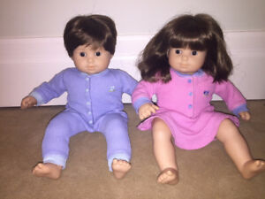 American Girl Bitty Twins Dolls - Girl and Boy