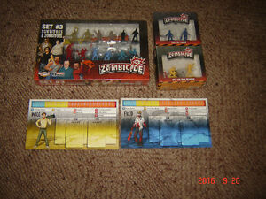 Zombicide game pieces, figures, stat cards. London Ontario image 1
