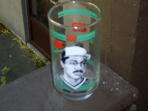 Toronto Blue Jays / Frito Lay Willie Upshaw 12 oz. Glass 1986
