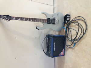 IBanez Gio with Blackstar Amp