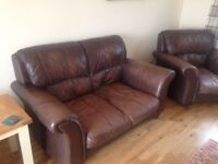Leather 3 piece suite FREE