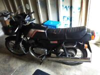 Jawa TS350 2-stroke motorcycle