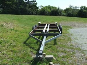 heavy duty yard trailer/ takes up to 25' boat