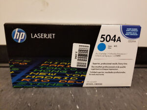 BRAND NEW Genuine HP Laserjet 504A Toner Ink Cartridge
