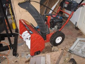24'' Troy Built Snowblower