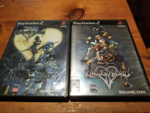 Kingdom Hearts 1 and 2 black label