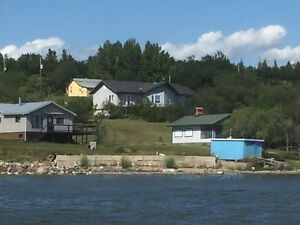 Lakefront house shared accommodations