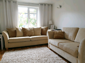 Two Large Great Condition Sofas from Furniture Village
