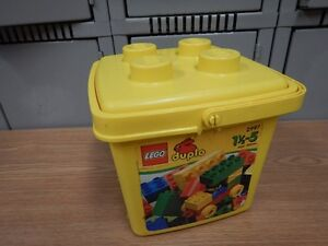 Lego Duplo 2997 Building Set: w/ 40 Bricks & Storage Bucket 100%