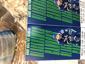 Canucks tickets