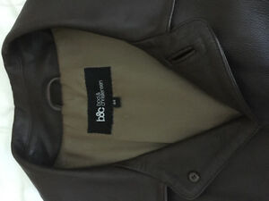 Leather Coat Size 44