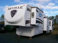 2011 Seville 35CK fifth wheel